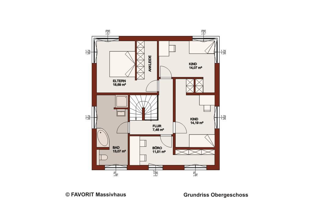 Concept Design 225  Bauhausstil mit Aussicht  Bauunternehmer Schob