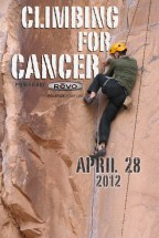 Flyer for 2012 Climbing for Cancer Event
