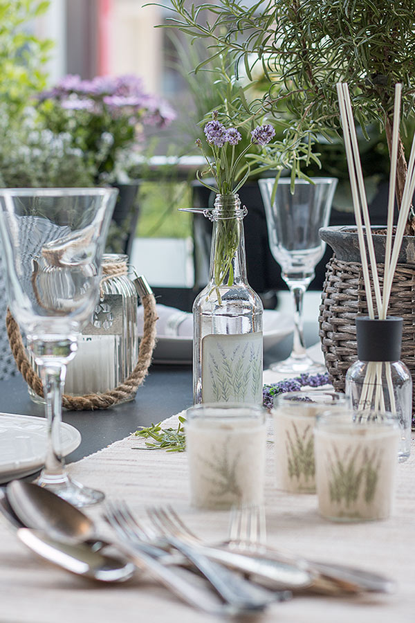 Tischdeko im LavendelLook  Schn bei dir by DEPOT