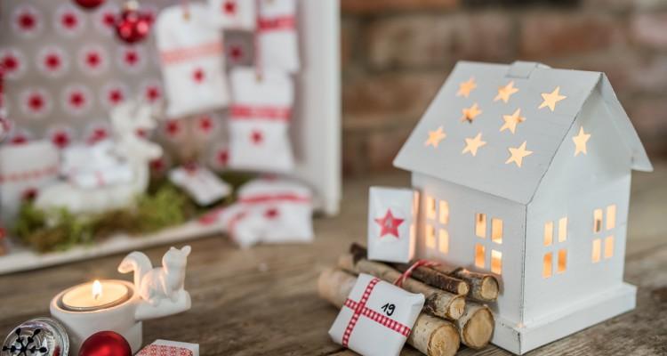 DIY Adventskalender-Haus Schön bei dir by DEPOT