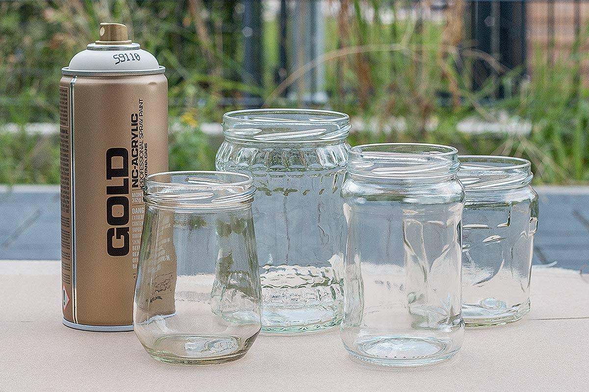 DIY Teelichthalter aus Marmeladenglsern  Schn bei dir