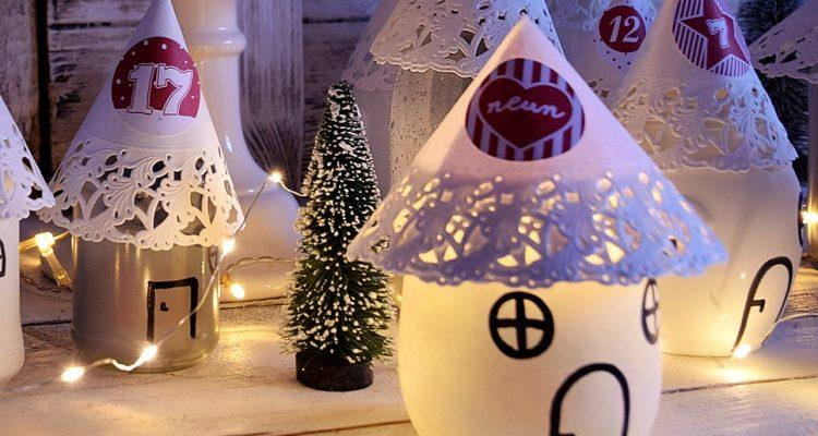 Weihnachtsideen Adventskalender Selber Basteln