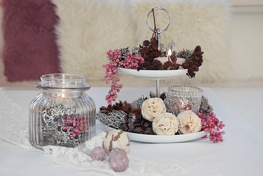 Etagere winterlich dekorieren  Schn bei dir by DEPOT