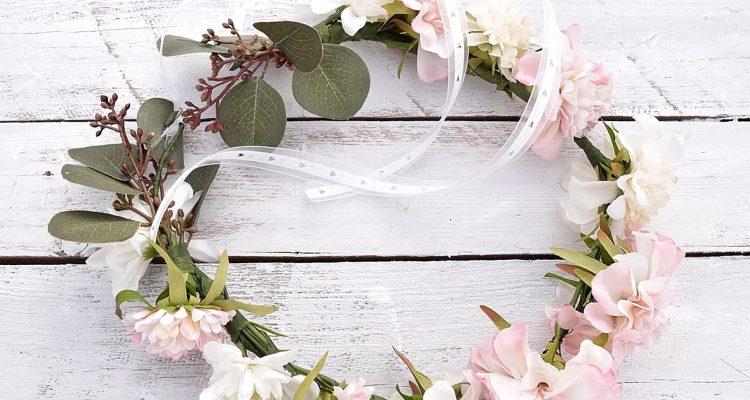 Blumenkranz selber binden  so einfach gehts