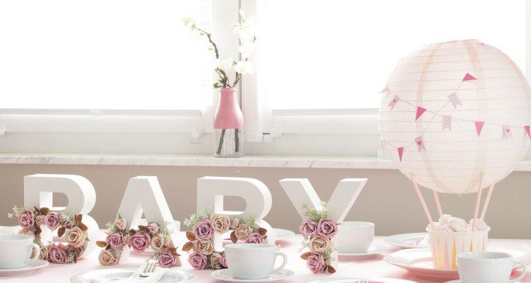 DIY Babyshower DekoIdeen zum Selbermachen