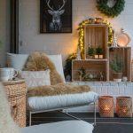 Weihnachtliche Terrassendeko Mit Weinkisten Schon Bei Dir By Depot