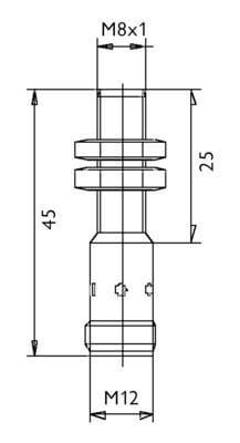 ID2LI0815 / Inductive Proximity Sensors (DC Cylindric