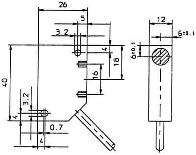 INHE5215 / Inductive Proximity Sensors (DC Rectangular