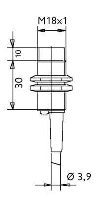 IPCT1814 / Inductive Proximity Sensors (DC Cylindric Sizes