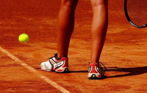 tennisschoenen gravel