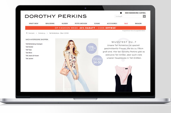 Dorothy Perkins Shop