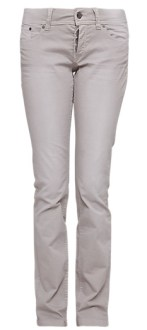 Catie Slim schmale Damen Hose Farbe Latte bis Länge 36
