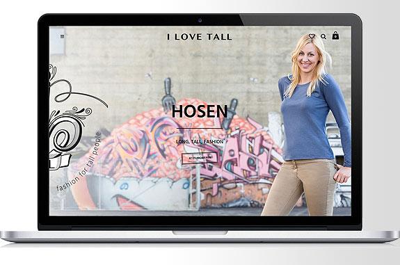 I LOVE TALL - Der TALL Shop für große Frauen aus der Schweiz.