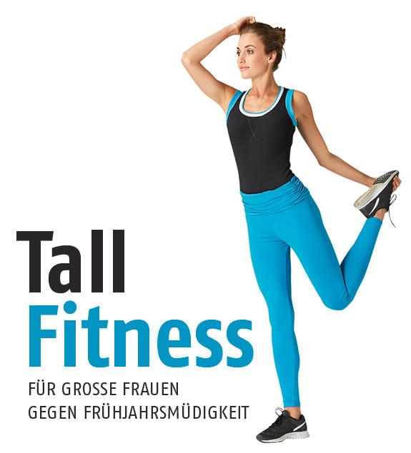 Tall Fitness Outfits - Extralange Legging für lange, große Frauen gegen Frühlingsmüdigkeit!