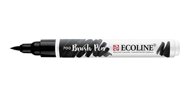 Ecoline Brush Pen Schwarz