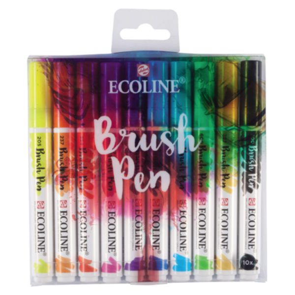 Ecoline Brush Pen Set Basic Farben