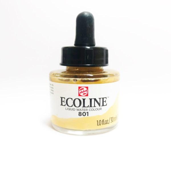 Ecoline Wasserfarbe Gold