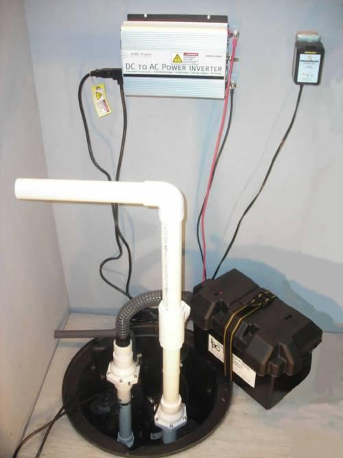 small resolution of battery backup pump sump pump waukesha wi schoenwalder plumbing