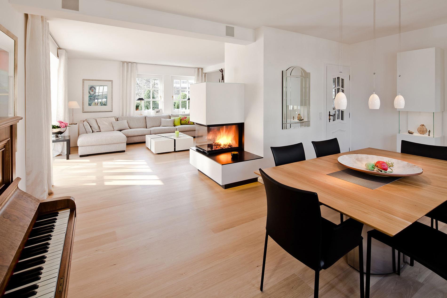 Küche Esszimmer Wohnzimmer Offen | Küche Und Esszimmer ...
