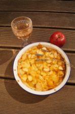 Apfel Lavendelwein Kuchen