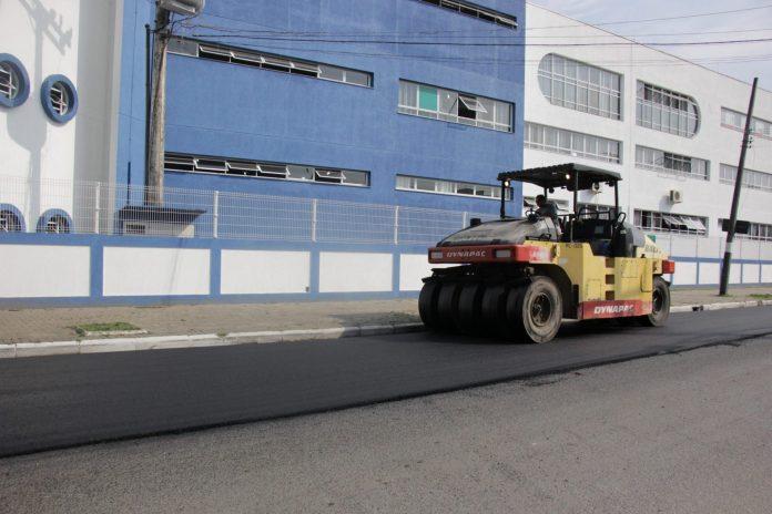 Rua 2328 em Balneário Camboriú receberá asfalto nesta semana, SC Hoje News - Notícias de Balneário Camboriú