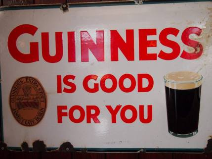 Guinness is good for you - vor allem in Form von saftigem Schokokuchen!