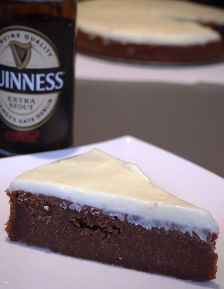 Bier und Kuchen ist eine wundervolle Kombination
