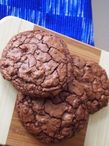 Es ist angerichtet! Vorhang auf für Schoko-Walnuss-Cookies