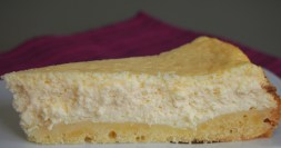 Cremig, vanillig, Cheesecake