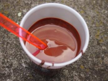 """SO muss """"Kakao"""" sein: einfach pure, flüssige, dunkle Schokolade! Göttlich!"""