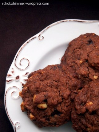 Schoko-Cookies mit Cashewkernen