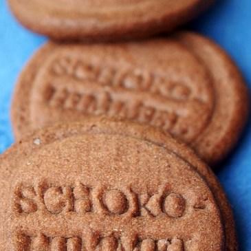 2. Keksstempel-Versuch: schokohimmlische Kakaokekse