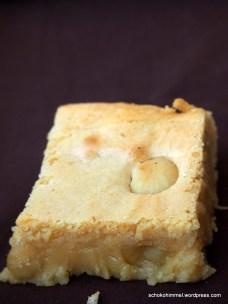 pure Sünde: Blondies mit gesalzenen Macadamia-Nüssen