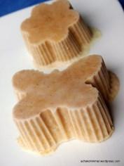Erdnussbutter-Eis noch ohne Deko