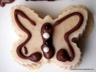 Der Erdnussbutter-Eis-Schmetterling bringt Abkühlung