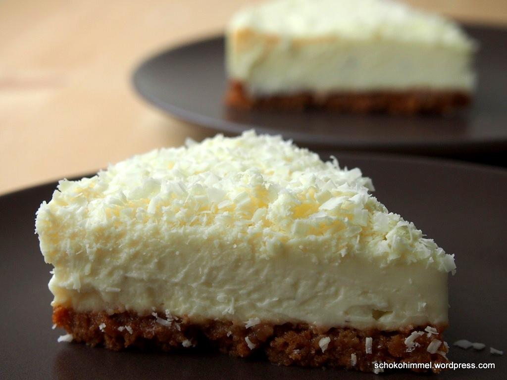 Supercremiger White Chocolate Cheesecake