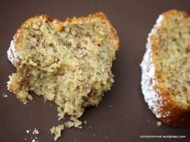 Köstlich nussig: Zucchini-Kuchen