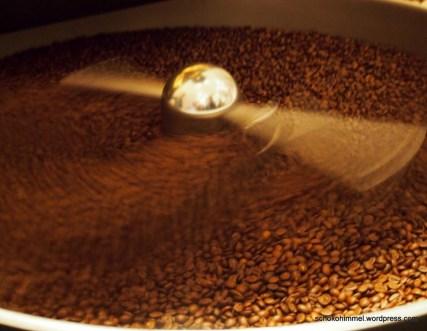 Schonende Röstung der Kaffeebohnen