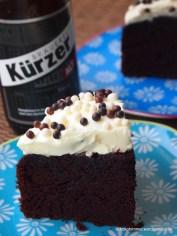 Zeit für ein Stück Altbier-Schoko-Torte