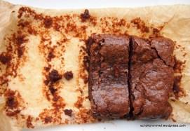 Nuss-Nougat-Brownies für den kleinen Haushalt ;-)