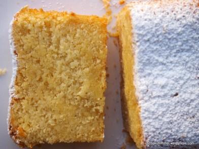 Leckerer Grießkuchen mit Mandeln