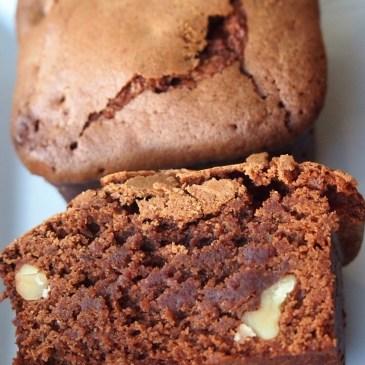 Ich back' mir zum Jahresende… Walnuss-Zimt-Brownies in einer vermeintlich sinnlosen Backform