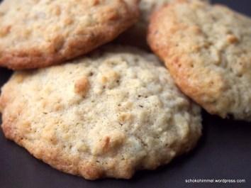 Besser als der Klassiker: Haferflocken-Cookies mit Macadamias