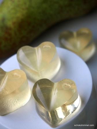Gummibärchen in Herzform