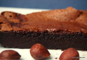 zwei Zutaten-Brownies