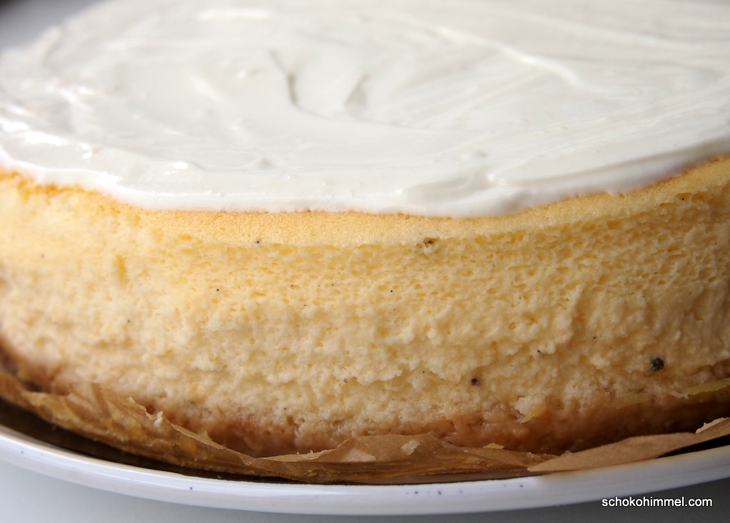 cremiger Cheesecake mit Frosting