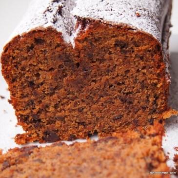 Antizyklisch backen: Winterkuchen im Sommer [Mandeln, Schokolade und Zimt gehen immer]