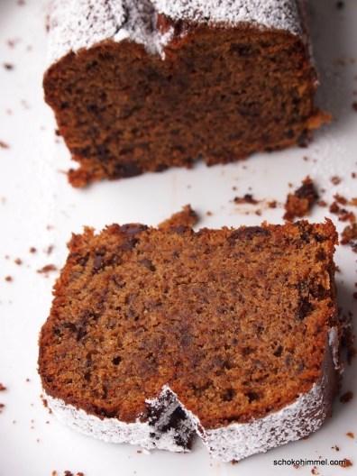 saftiger Mandel-Schoko-Kuchen