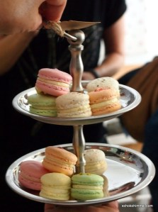 Macarons in der Genusswerkstatt