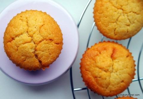 saftige Apfelmus-Muffins